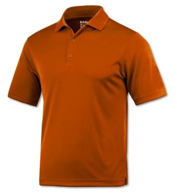 RJX Activ Men's Short Sleeve Xtreme-Tek  Texas Orange Polo