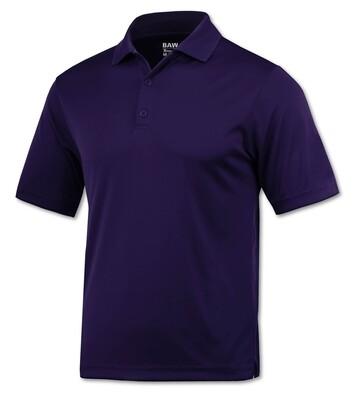 RJX Activ Men's Short Sleeve Xtreme-Tek Polo - Purple