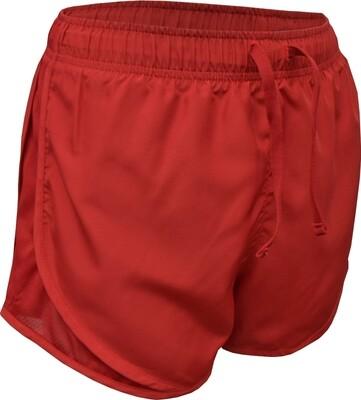 RJX Activ Women's 3in Core Run Short- Red