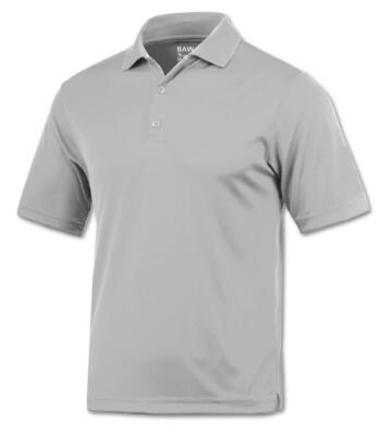 RJX Activ Men's Short Sleeve Xtreme-Tek Polo - Silver