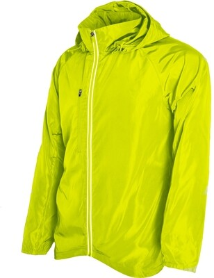 RJX Activ Men's Packable Neon Yellow Jacket