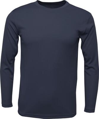 RJX Activ Men's Long Sleeve Core Tee - Navy