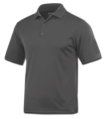 RJX Activ Men's Short Sleeve Xtreme-Tek Polo - Heather Grey