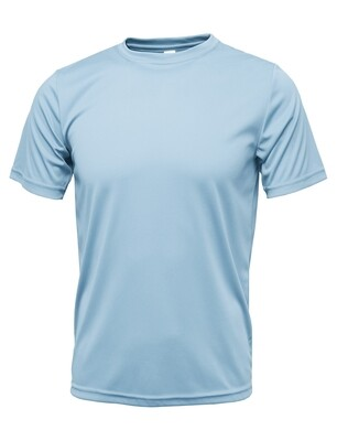 RJX Activ Men's Short Sleeve Core Tee - Light Blue
