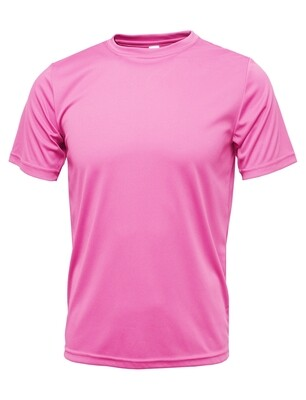 RJX Activ Men's Short Sleeve Core Tee - Light Pink