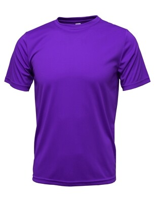 RJX Activ Men's Short Sleeve Core Tee - Royal Purple
