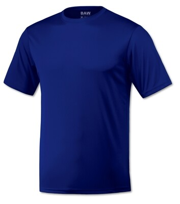RJX Activ Men's Short Sleeve Core Tee - Royal Blue