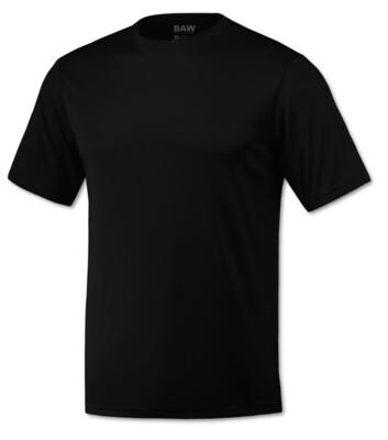 RJX Activ Men's Short Sleeve Core Tee - Black