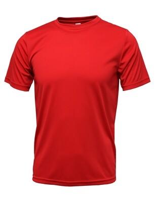 RJX Activ Men's Short Sleeve Core Tee - Red