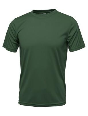 RJX Activ Men's Short Sleeve Core Tee - Dark Green
