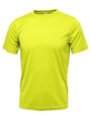 RJX Activ Men's Short Sleeve Core Tee - Neon Yellow