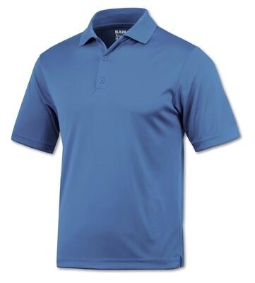 RJX Activ Men's Short Sleeve Xtreme-Tek Polo - Carolina Blue