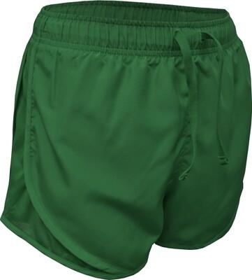 RJX Activ Women's 3in Core Run Short - Dark Green