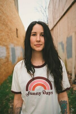 Brands and Threads Sunny Days Ringer Tee
