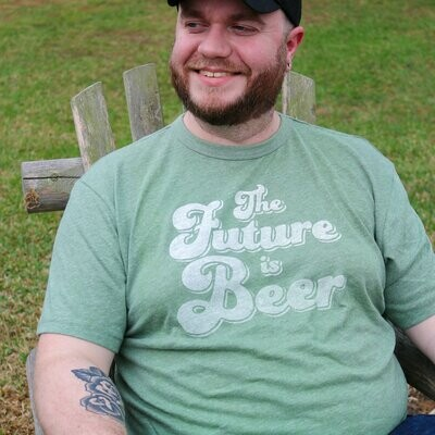 Brands and Threads The Future is Beer Tee