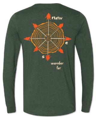 Nativ Long Sleeve Compass Tee