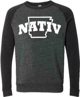 Nativ Varsity Arkansas Pullover Crew