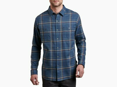Kuhl Men's Long Sleeve Fugitive Flannel