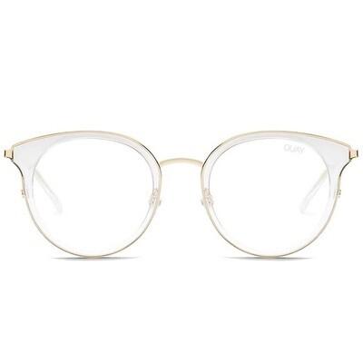 Quay Australia Cryptic Clear Blue Light Glasses