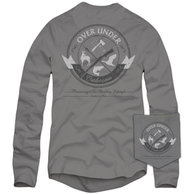 Over Under Men's Long Sleeve Outdoorsman Tee