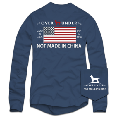 Over Under Men's Long Sleeve Not Made In China Tee