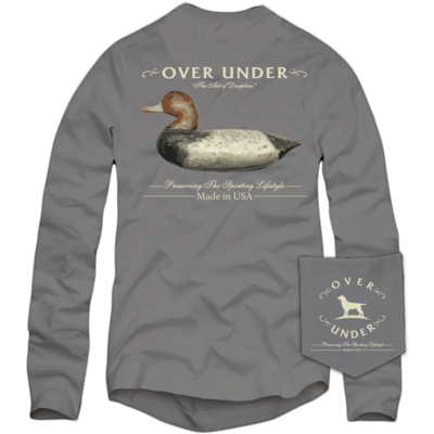 Over Under Men's Long Sleeve Art of Deception Tee
