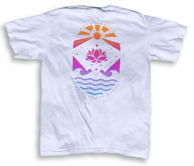 Nature Backs Lotus Tee