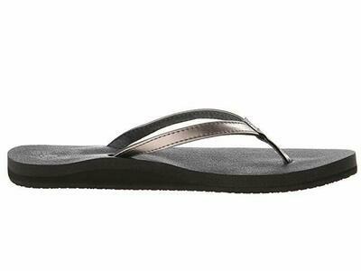 Sanuk Women's Yoga Joy Metallic Flip Flops