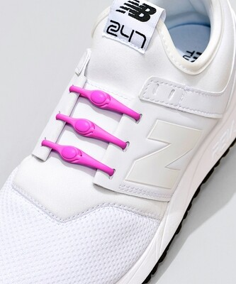 Hickies Laces - Neon Pink