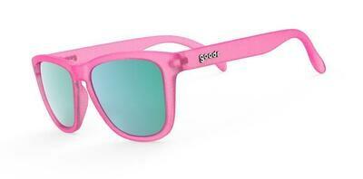 Goodr OG Flamingos On a Booze Cruise Sunglasses