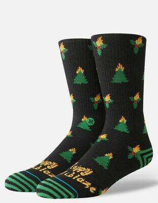Stance Men's Holiblaze Crew Socks