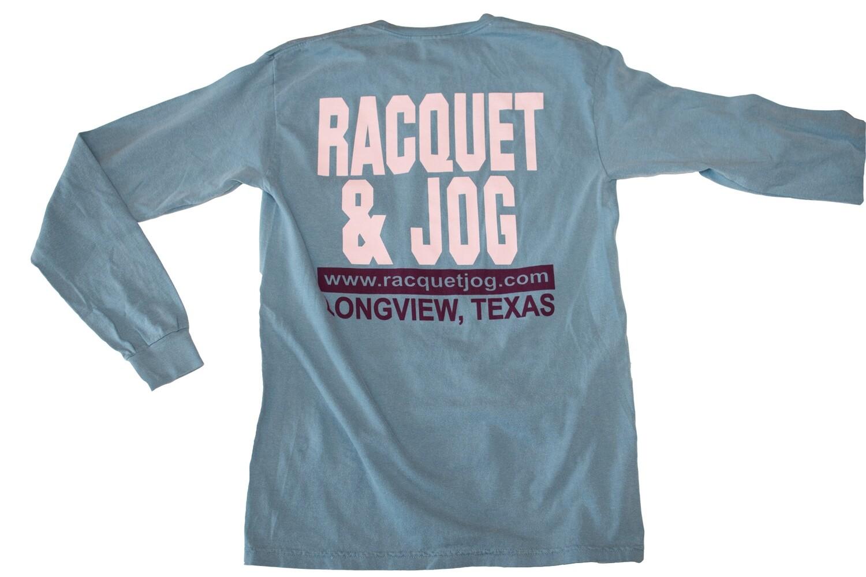 Racquet & Jog Old School Fashion Long Sleeve Tee