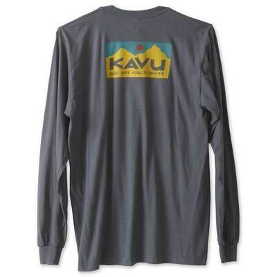 Kavu Men's Long Sleeve Etch Art Tee