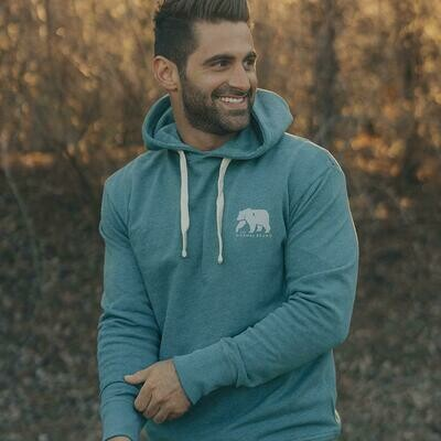 The Normal Brand Men's Two Toned Bear Hoodie
