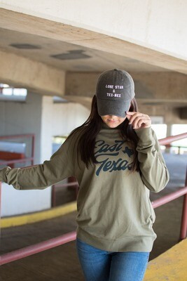 Brands and Threads East Texas Camp Crewneck