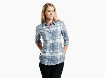 Kuhl Women's Long Sleeve Kamila Flannel