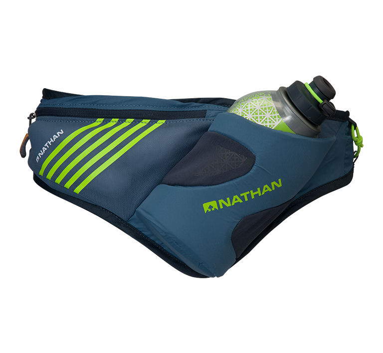 Nathan Sports Peak Waist Pak with Insulated Speeddraw Flask