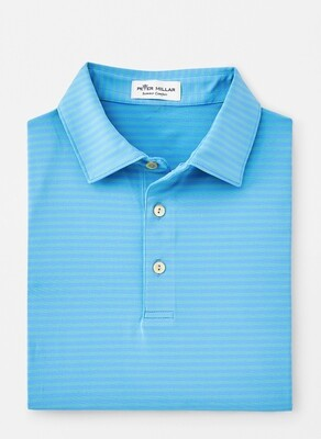 Peter Millar Men's Competition Stripe Performance Polo