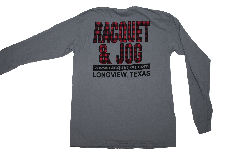 Racquet & Jog Old School Christmas Long Sleeve Tee