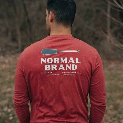 The Normal Brand Men's Long Sleeve Paddle Tee