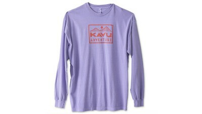 Kavu Men's Long Sleeve Adventure Time Tee