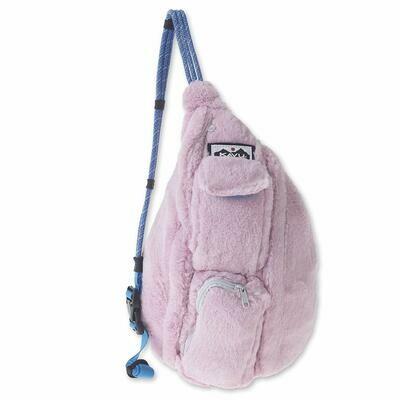 Kavu Mini Rope Fuzz Bag- Blush