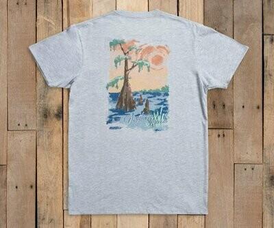 Southern Marsh Men's Southern Horizons Cypress Tee