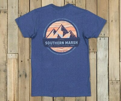 Southern Marsh Men's Branding Collection Tee- Summit