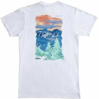 Southern Marsh Men's Southern Horizons Blue Ridge Tee