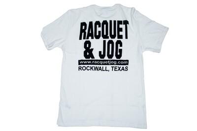Racquet & Jog Old School Core Jersey Pocket Tee