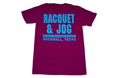 Racquet & Jog Old School Fashion Tee