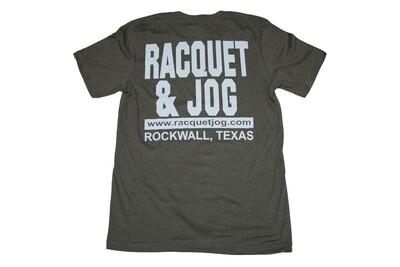Racquet & Jog Old School Jersey Tee