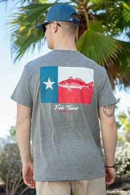 Burlebo Men's Fish Texas Tee