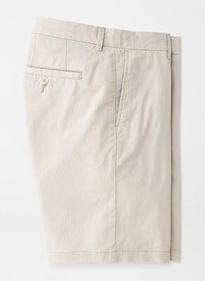 Peter Millar Pinstripe Cotton-Blend Short